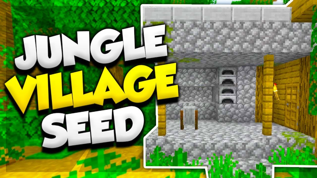 Jungle Village At Spawn Minecraft Village Seed