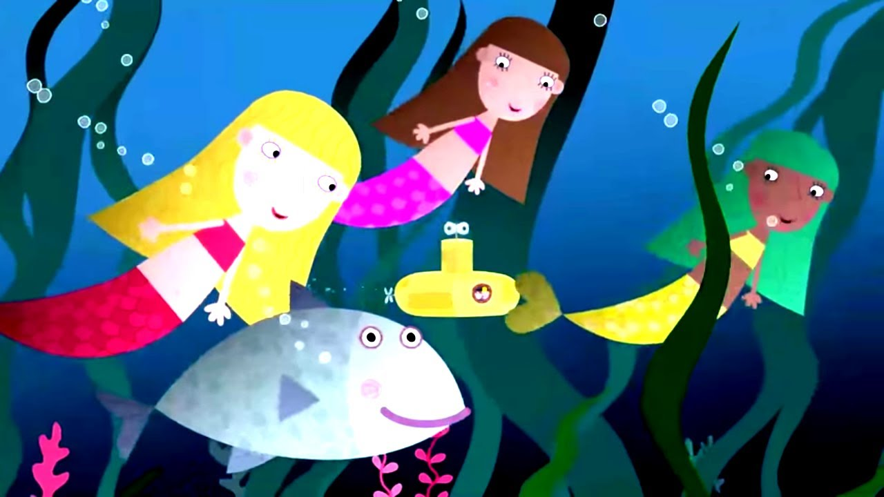 Download Ben and Holly's Little Kingdom | Under the Sea | Kids Videos