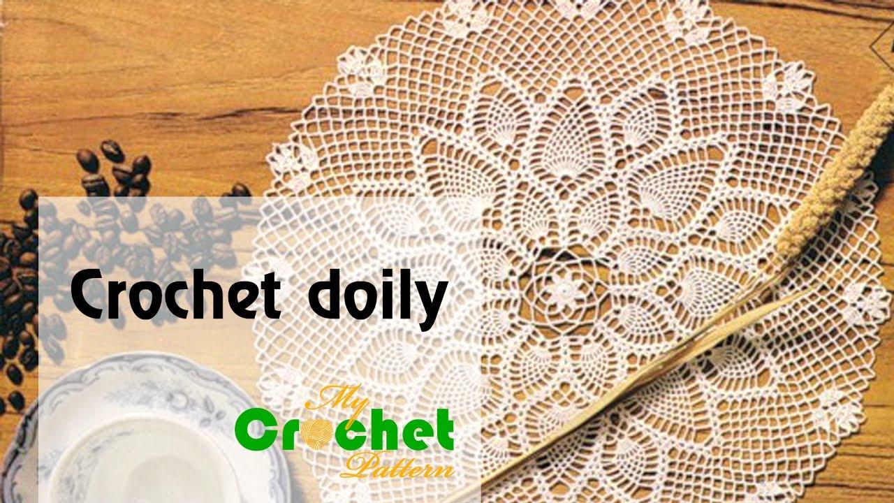 Crochet Doily Patterns Free Crochet Patterns Youtube