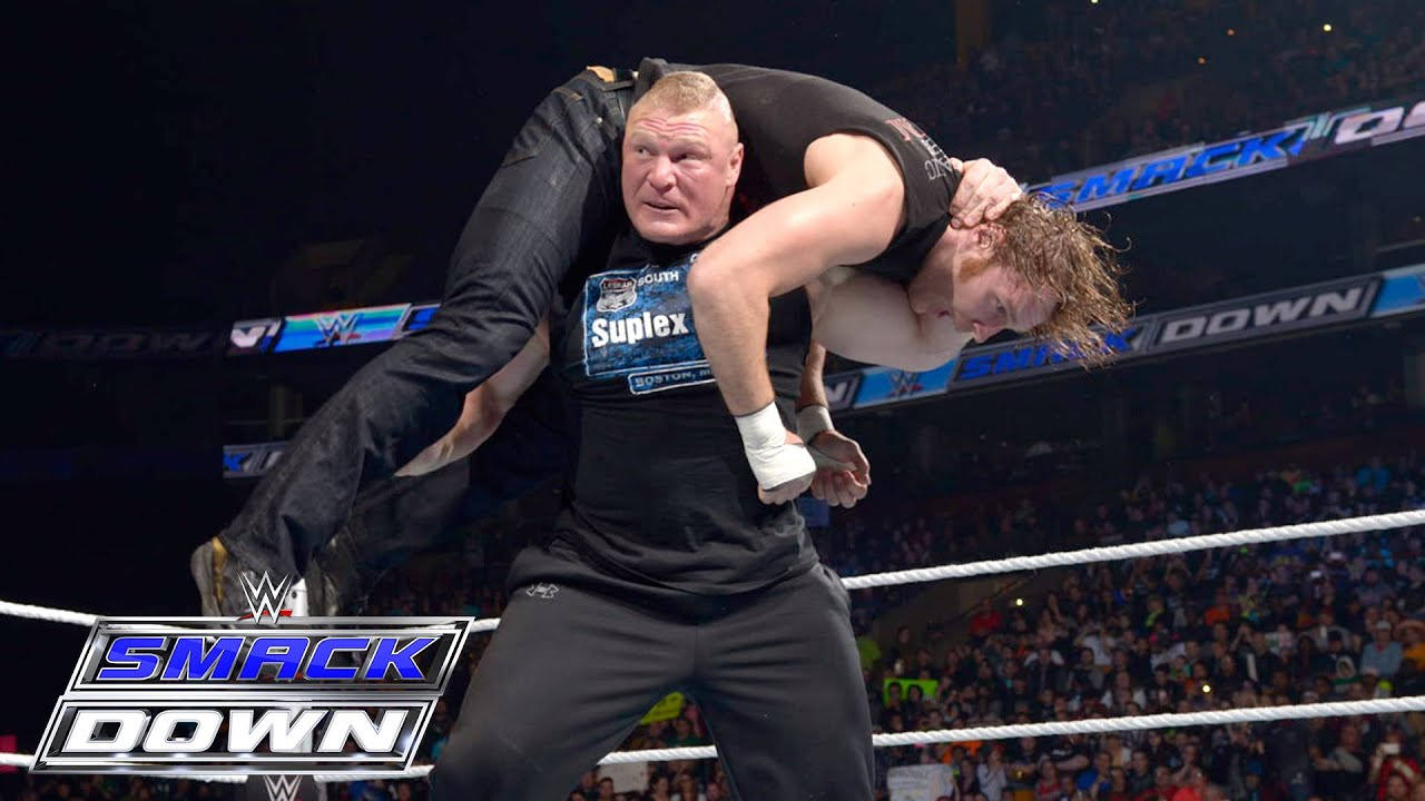 Brock Lesnar Dean Ambrose And The Wyatt Family All Go To