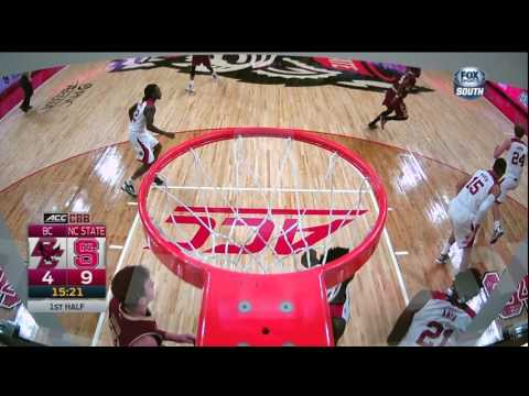 2016.03.02 Boston College Eagles at NC State Wolfpack Basketball