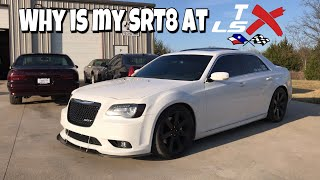 Why is my 300 SRT8 at TX LSX?