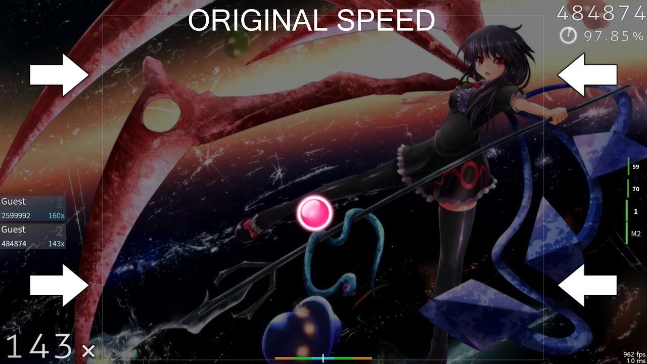 Osu! Galaxy collapse [Galactic] 0 3X Speed
