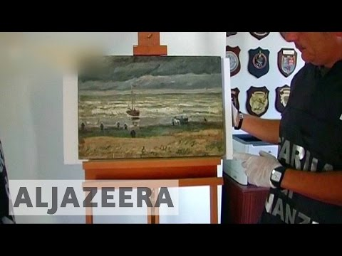 Stolen Van Gogh paintings recovered after 14 years