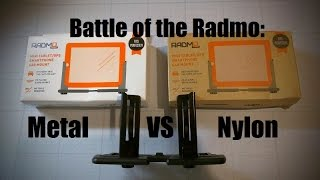 Radmo Smartphone CD Mount Face-Off: Metal vs Nylon