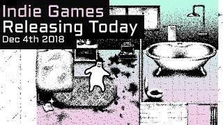 Top 9 New Indie Games Releasing Today - December 4th 2018