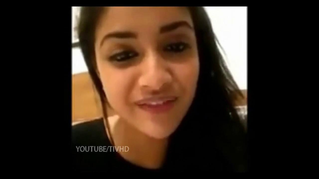 keerthi suresh song dance  Celebrity  Unseen Videos
