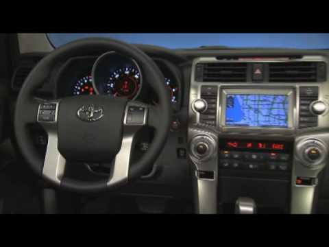 New Toyota 4runner Limited 2010 Interior Video Youtube