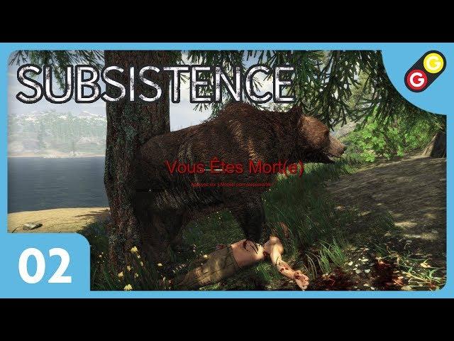 Subsistence #02 Un début très difficile ! [FR]