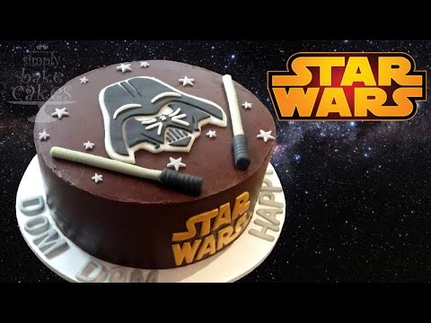 How To Make A Simple Star Wars Cake