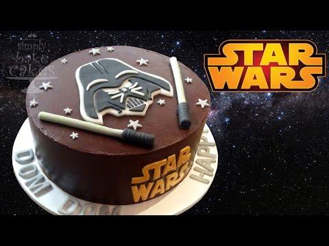 Star Wars Cake Tutorial Youtube