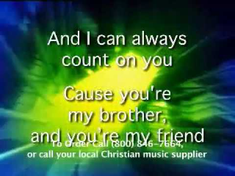 My Brother My Friend Lyric Video Crazy Praize Volume 1 Youtube
