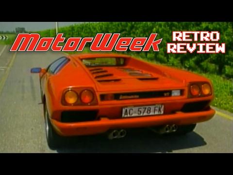 Retro Review 1996 Lamborghini Diablo Vt