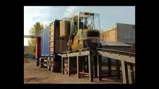 как перевозить битум(Современная промышленная упаковка - кловертейнер (clovertainer), среднетоннажный пластиковый контейнер из много..., 2013-01-15T05:55:03.000Z)