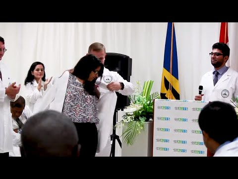 AUIS Medical School Grand Opening in Barbados & White Coat Ceremony!