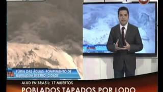 Canal 26 -Impresionante alud en Brasil : Al menos 17 muertos