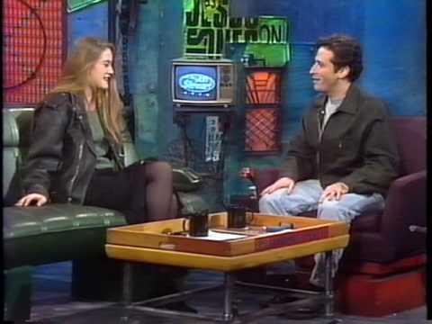 Alicia Silverstone  on John Stewart  1994