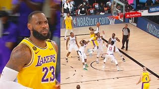 LeBron James Shocks Clippers With Game Winner! Lakers vs Clippers