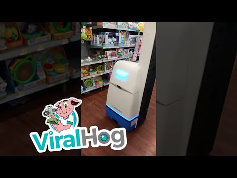 Jay and Dawn - Have You Seen Walmart's Aisle Robots?