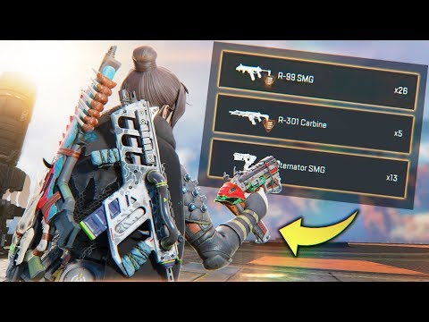 PLAYERS CAN NOW CARRY 3 GUNS?!?! - Best Apex Legends Funny Moments and Gameplay Ep 188