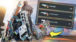 PLAYERS CAN NOW CARRY 3 GUNS!! - Best Apex Legends Funny Moments and Gameplay Ep 188