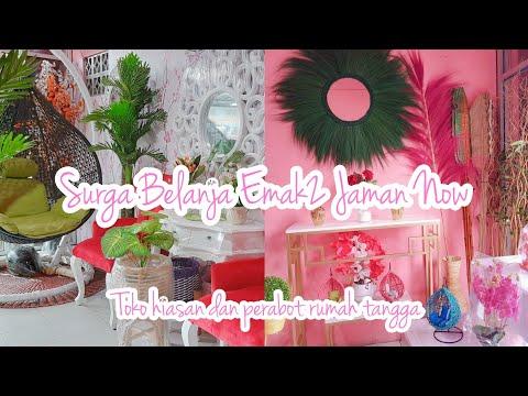 SURGA BELANJANYA EMAK2 || TOKO HIASAN & PERABOTAN RUMAH TANGGA from YouTube · Duration:  5 minutes 1 seconds