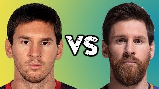 WITH BEARD or WITHOUT BEARD ft. MESSI ★ RONALDO ★ NEYMAR ★ BALE and more