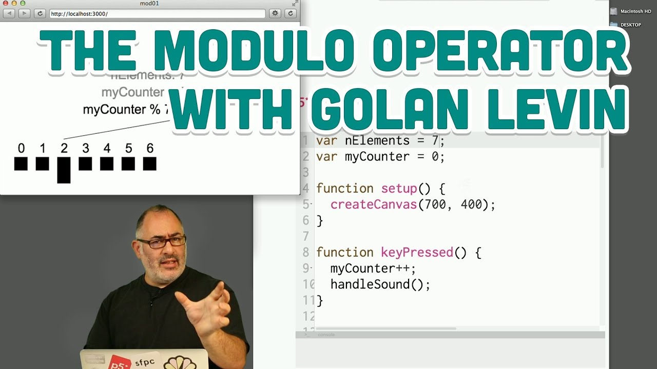 Guest Tutorial #6: The Modulo Operator with Golan Levin