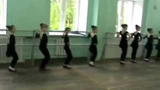 """ТСЦ """"Феерия"""".Открытый урок.Народный танец 1 год обучения."""