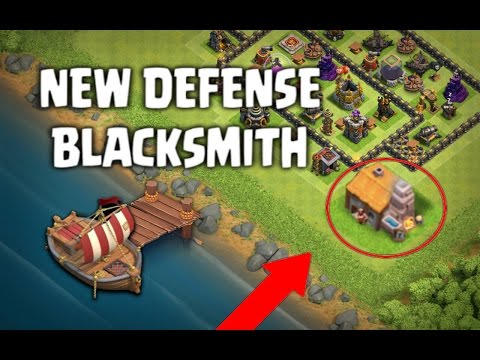 CLASH OF CLANS | NEW DEFENSE 'BLACKSMITH' UPDATE IDEAS!! (MAY 2017) COC NEW TROOP / COC UPDATE LEAK!