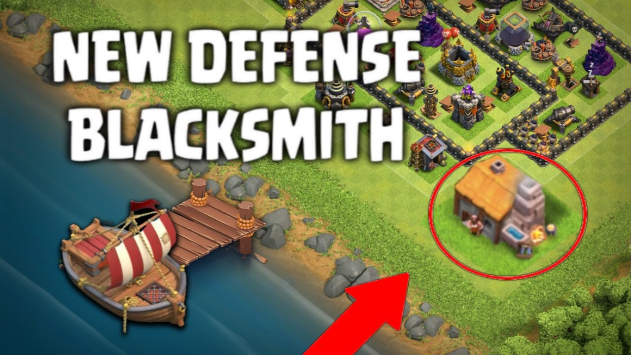 Clash of clans new defense blacksmith update ideas may 2017 clash of clans new defense blacksmith update ideas may 2017 coc new troop coc update leak stopboris Images