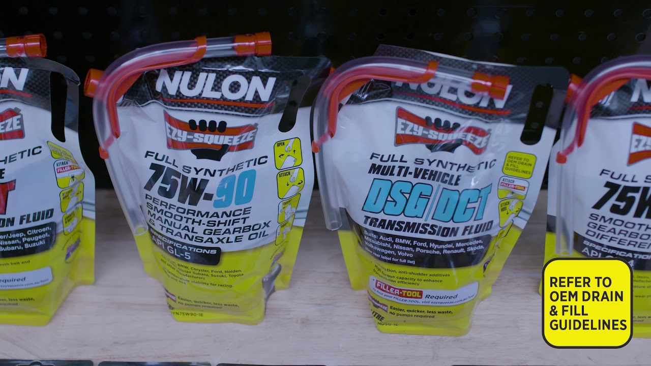 Gear and Differential Oils - Nulon Products Australia
