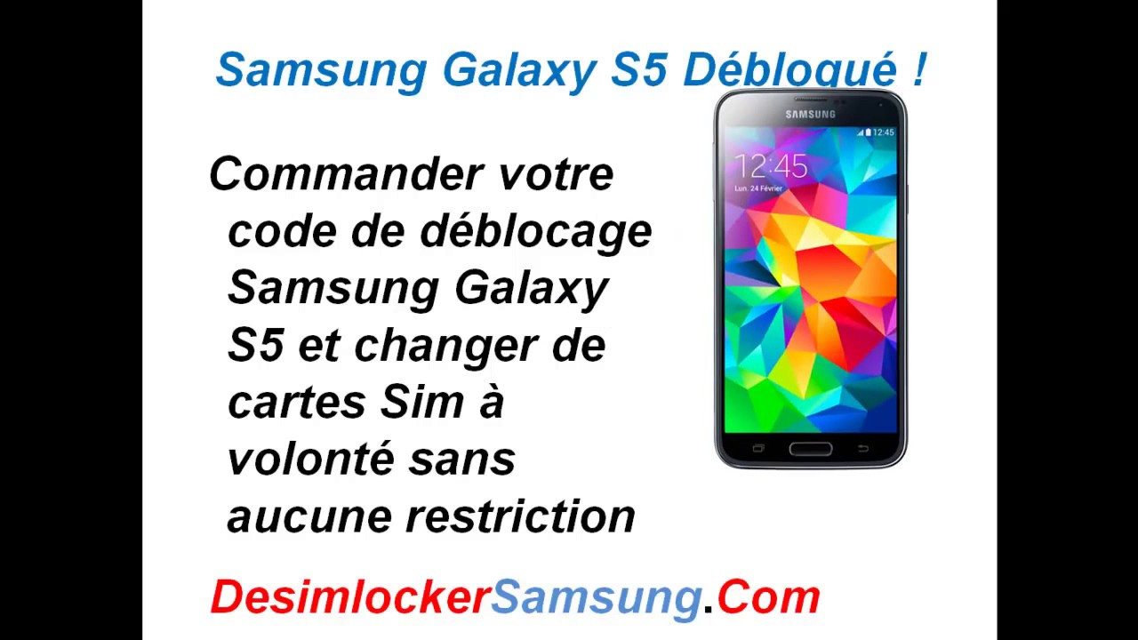 comment d bloquer un samsung galaxy s5 youtube. Black Bedroom Furniture Sets. Home Design Ideas