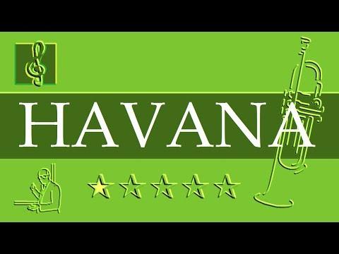 Trumpet Notes Tutorial - Camila Cabello - Havana ft. Young Thug (Sheet Music)