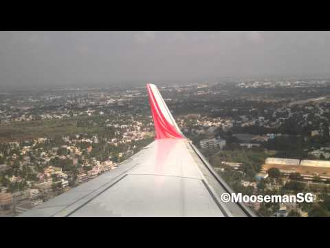 ✈ Air India Express Landing@Trichy