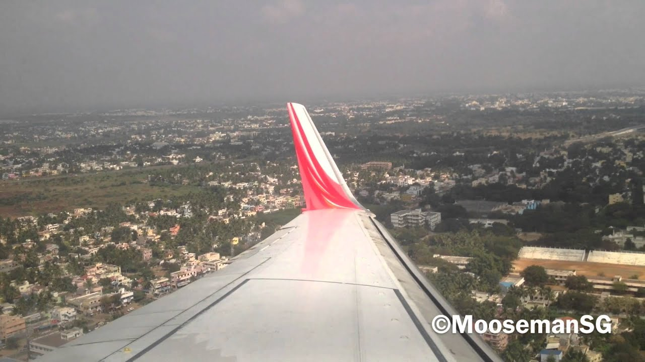 ✈ Air India Express Landing@Trichy - YouTube