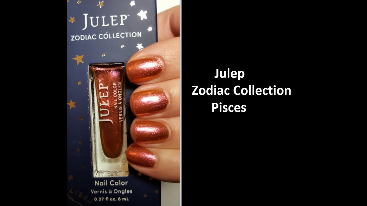New Julep The Zodiac Collection: Pisces - YouTube