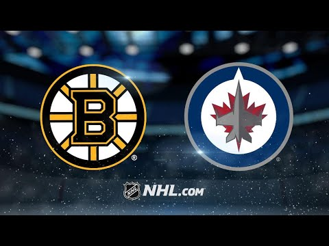 Tanev notches hat trick, Jets top Bruins in SO