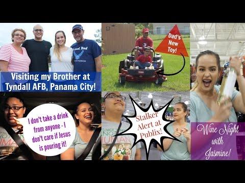 VLOG | Clothing Shopping, Wine Night with Jasmine & Panama City | Alyssa B.