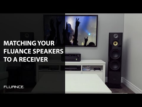 How To Select An Amp Or Receiver To Match The Impedance And Power Needs Of Your Fluance Speakers