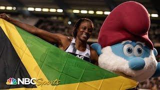 Danielle Williams destroys 100m hurdles field in Diamond League dominance | NBC Sports