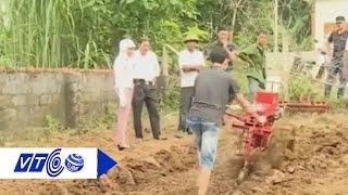 Chiếc máy cày độc đáo của 'kỹ sư chân đất' | VTC