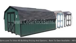 Painted Pro Series Mini Barn