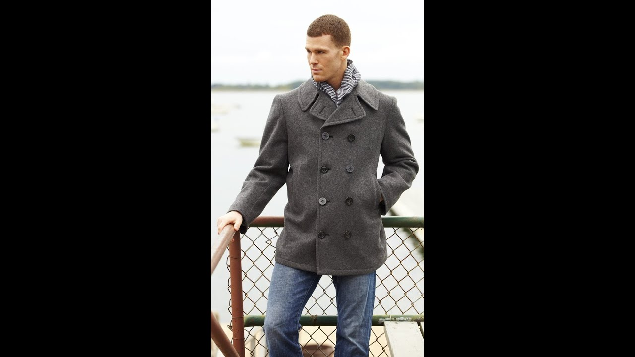 U.S. Navy Pea Coats & Classic Navy Wool Pea Coats - YouTube
