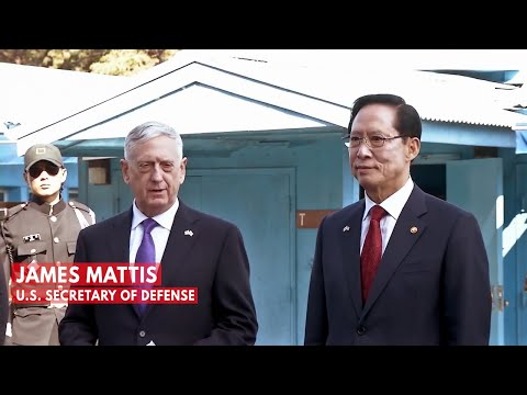Defense Secretary Mattis at Korean DMZ: