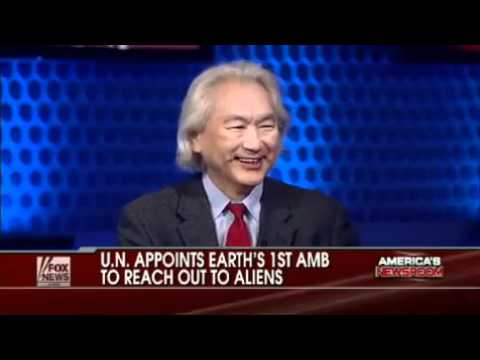 Michio Kaku Speaking About the United Nations Establishing Protocols for Dealing with Aliens