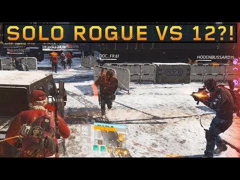 Meeting Fans & Funny Guy! SOLO DZ PVP #83 (The Division 1.8.3)