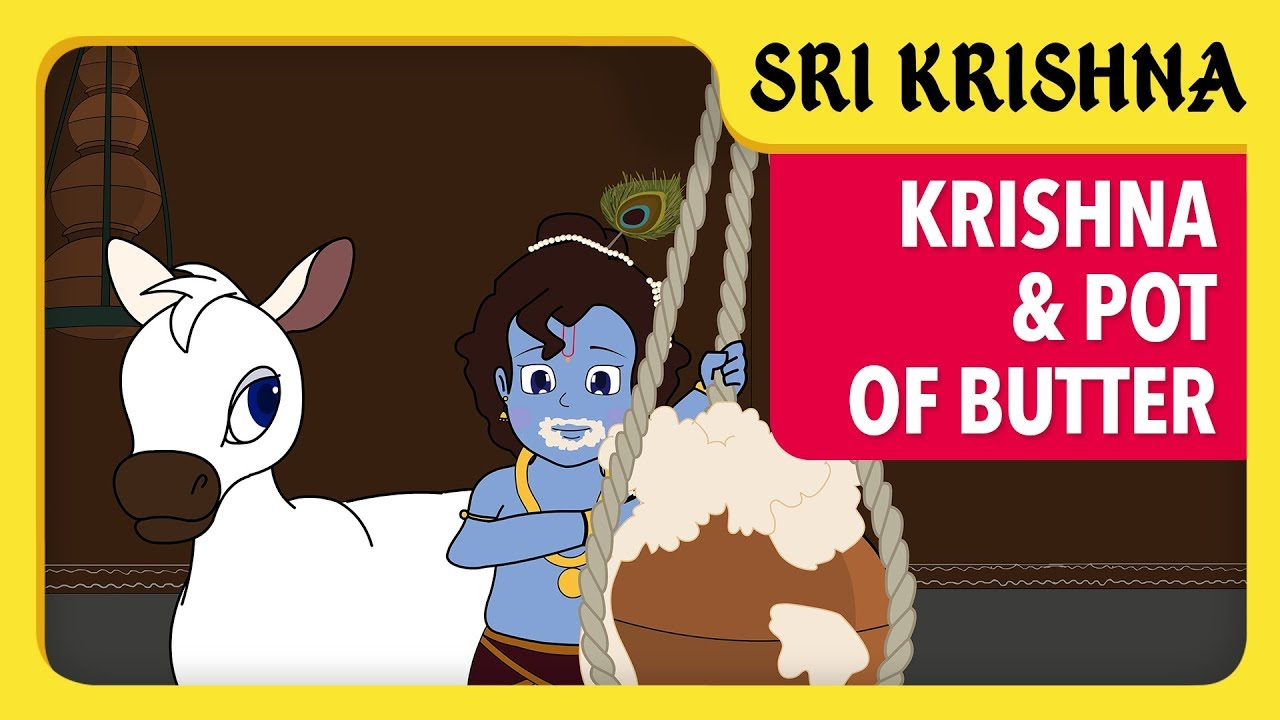 Latest Krishna eating Butter Photo Gallery for free download
