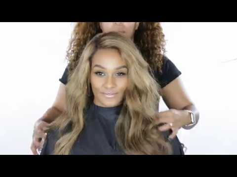 Flawless Full Lace Wig Application With Cling From Her Imports By