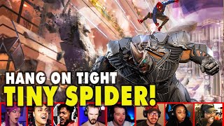 Gamers Reactions To Miles & Rhino EPIC Mall Chase Scene In SpiderMan Miles Morales | Mixed Reactions